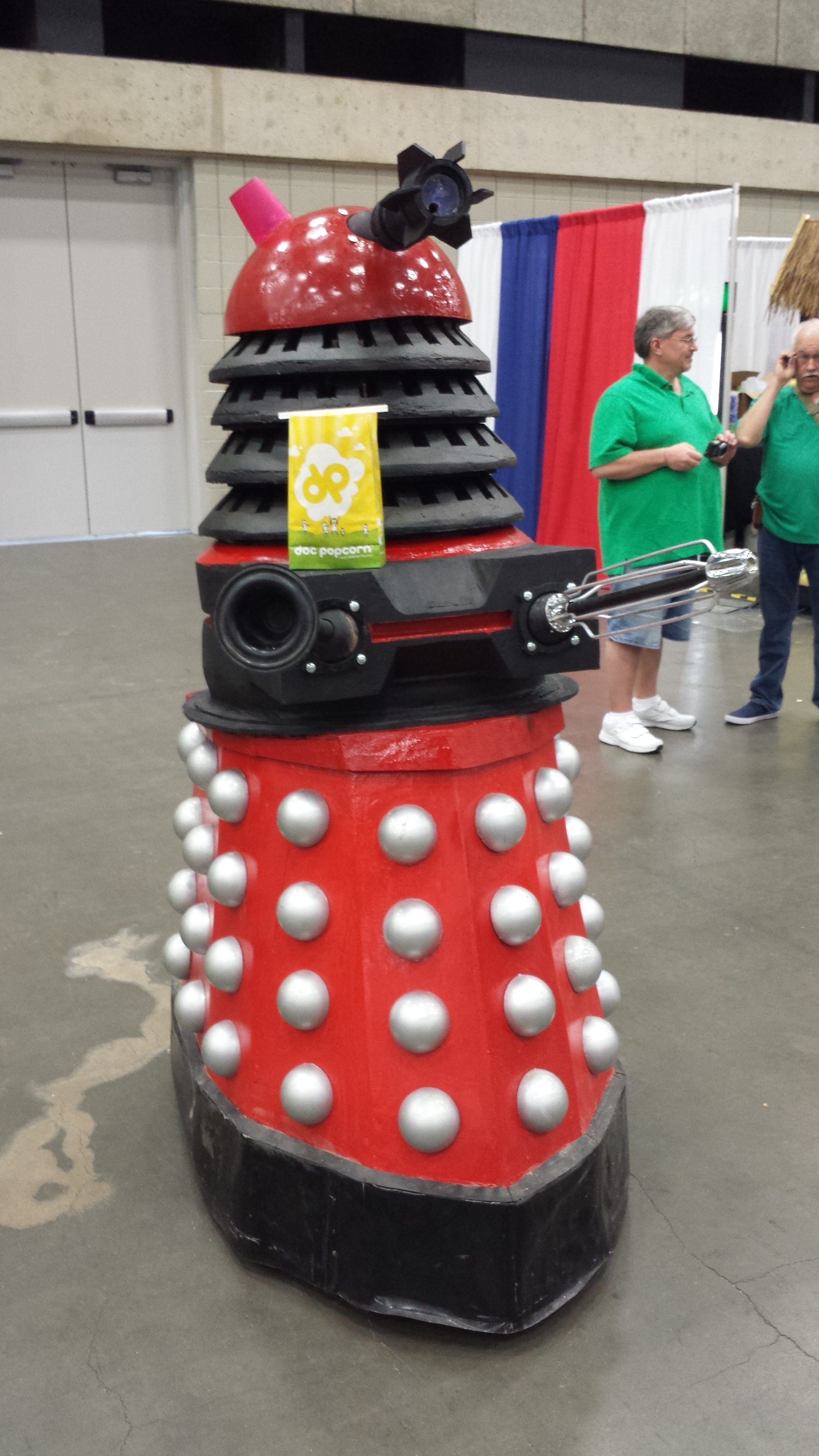 Even Daleks will stop 'exterminating' to enjoy some Doc Popcorn!