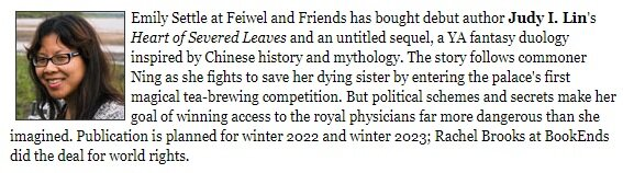 Heart of Severed Leaves book deal announcement!