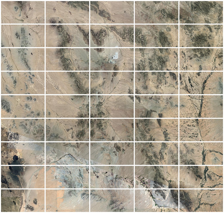 32°09′40.52″N 112°49′42.80″W  Route from Mexico to USA  Sonoyta, Sonora, Mexico/  Ajo, Arizona, USA  USA - Mexico Border