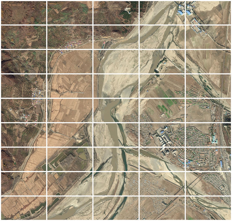 42°27′00.97″N 129°43′27.31″E  Route from North Korea to China  Long Jing, Yanbian, Jilin, China/Hoeryŏng, North Hamgyŏng Province, North Korea  North Korea - China Border