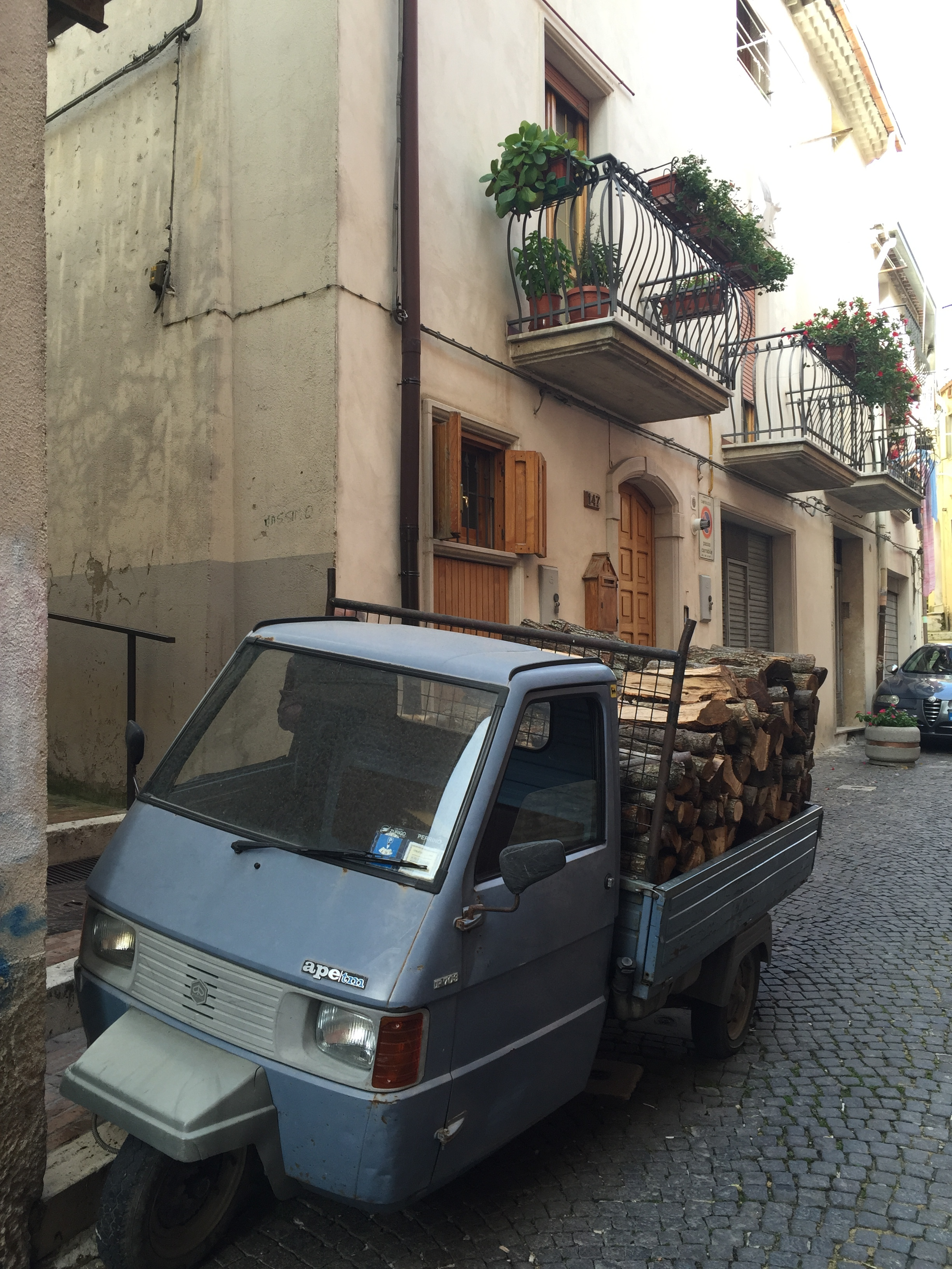 The modern version of the above delivery truck... Campobasso, Italy.