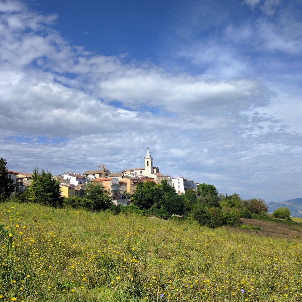 My adopted hometown of Montagano, Molise, Italy.