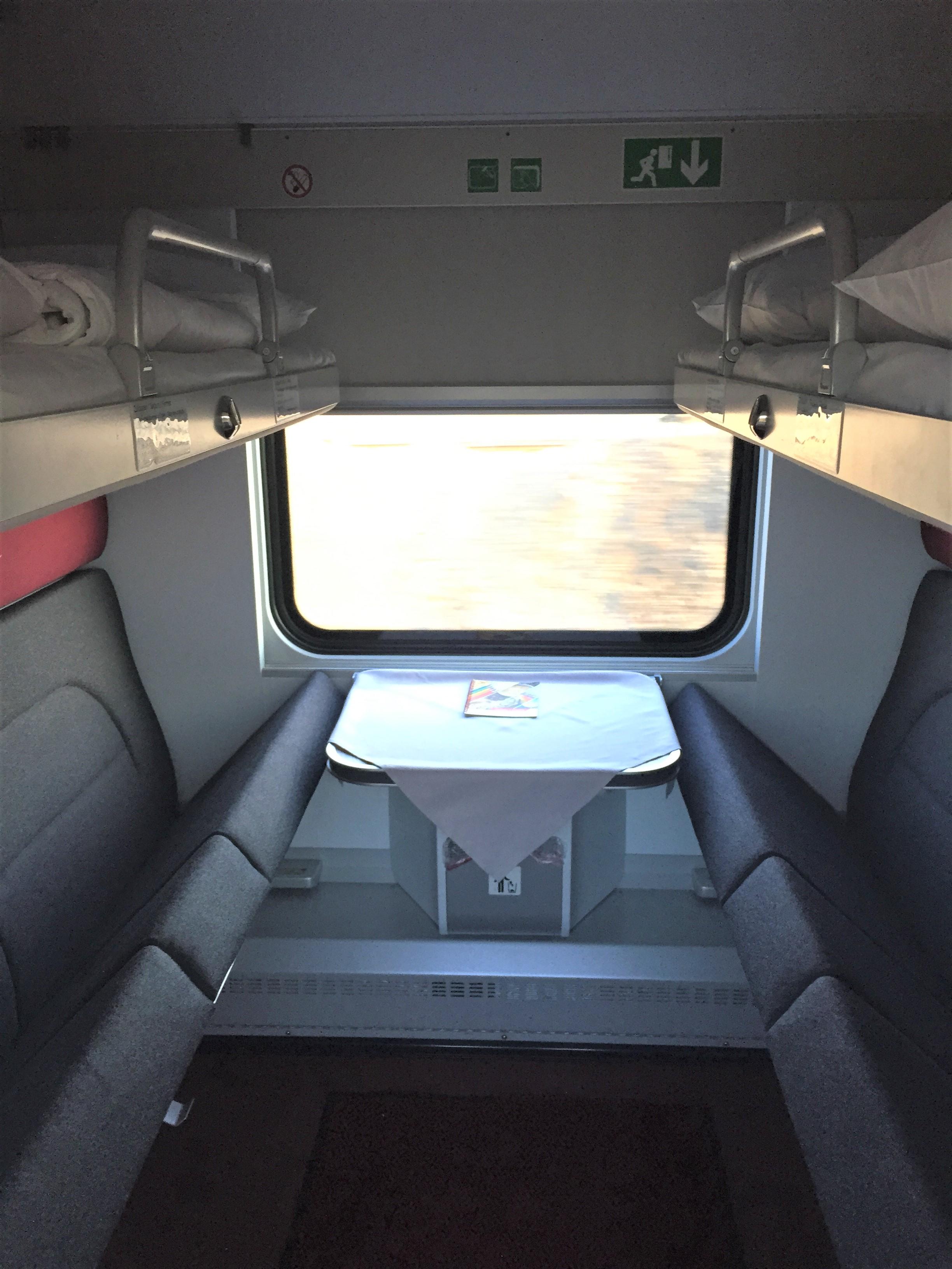 traincompartment