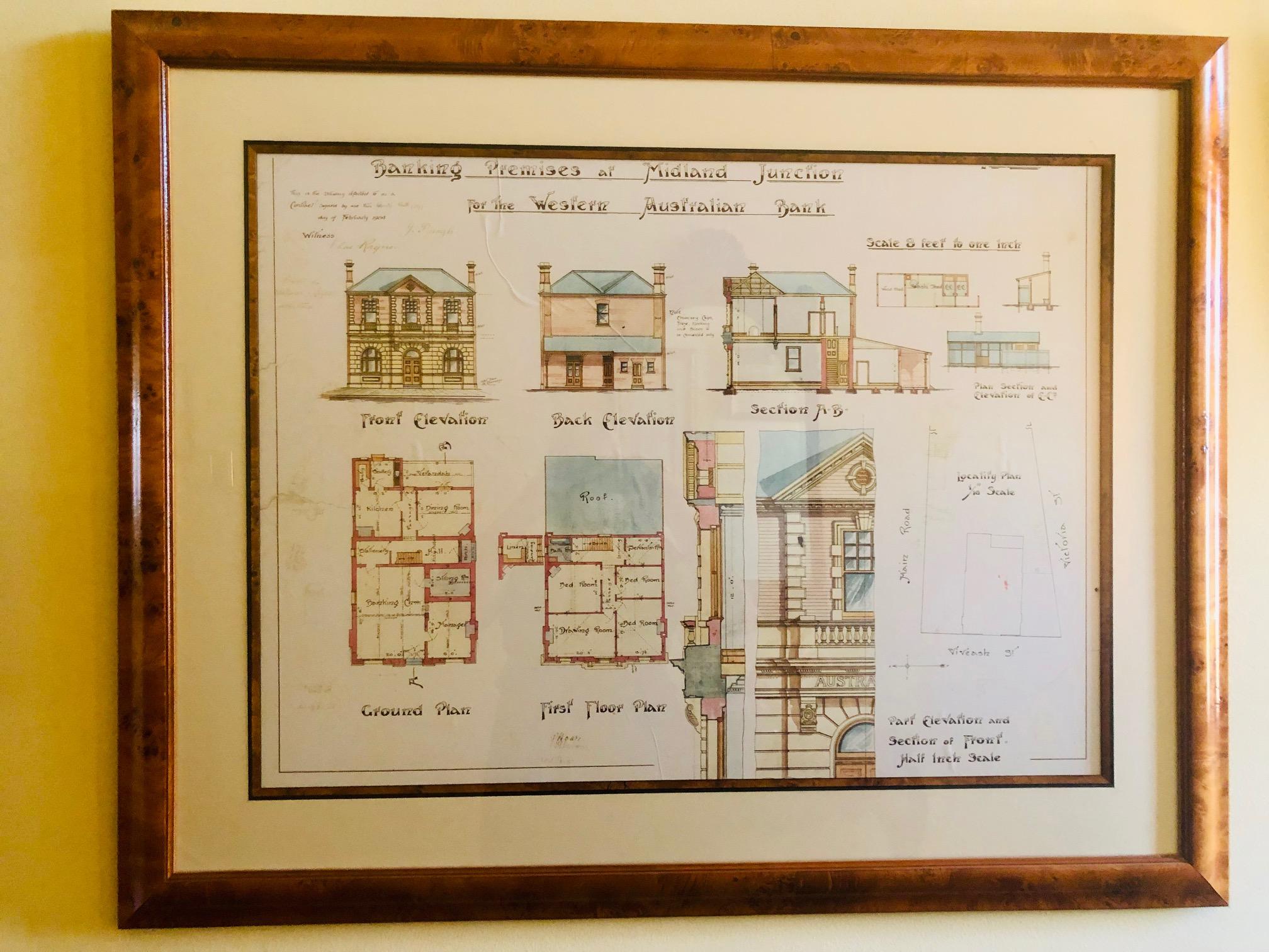 Original Bank floorplans