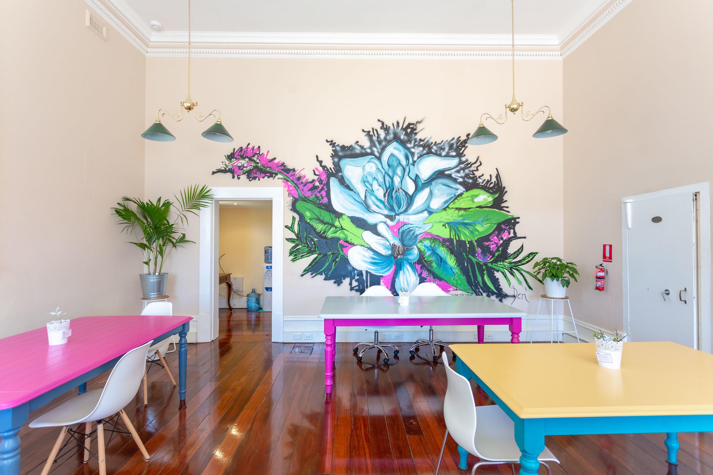 Stunning mural by Den