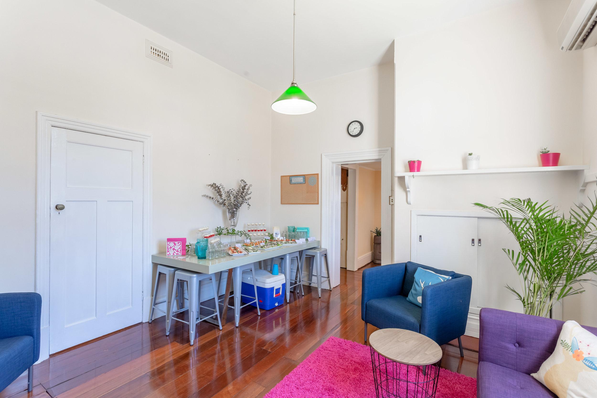 Members' dining/lounge area