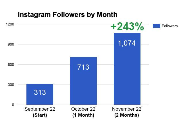 Refill-instagram-followers-chart-september-to-november
