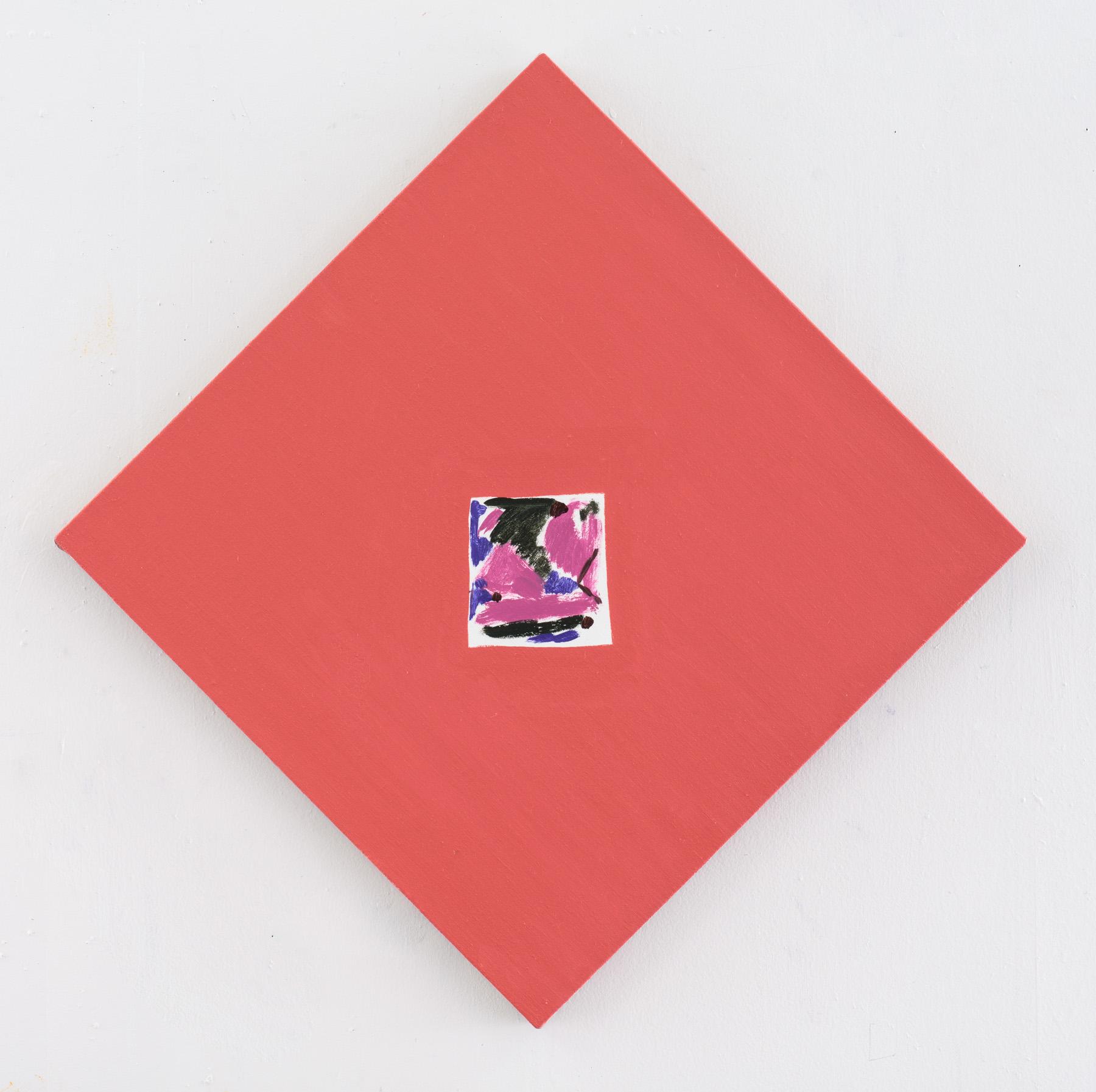 """Nora Griffin, Rewind, 2017, Oil on linen 20 x 20"""""""