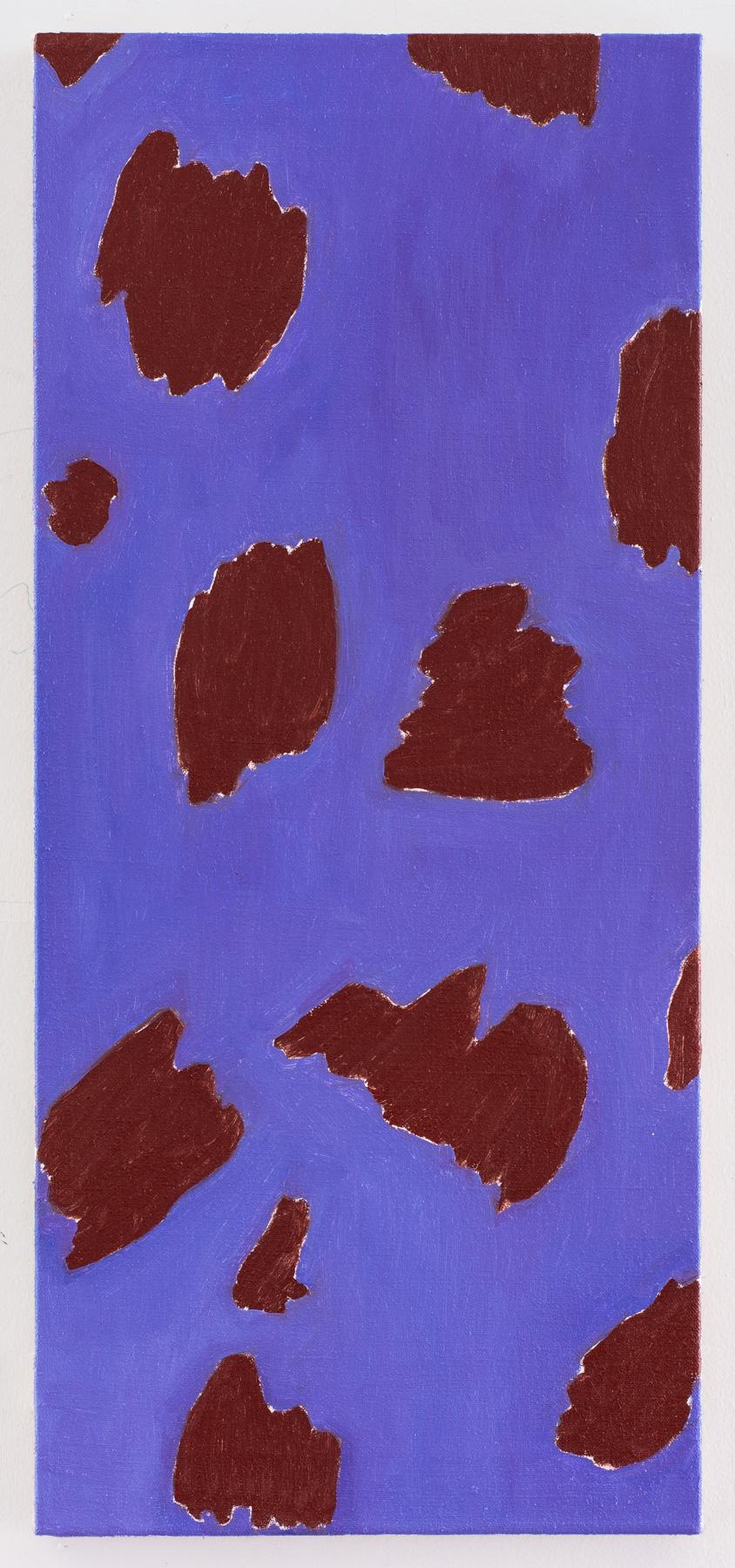 "Nora Griffin Topaz, 2017, Oil on linen 27 x 12"""