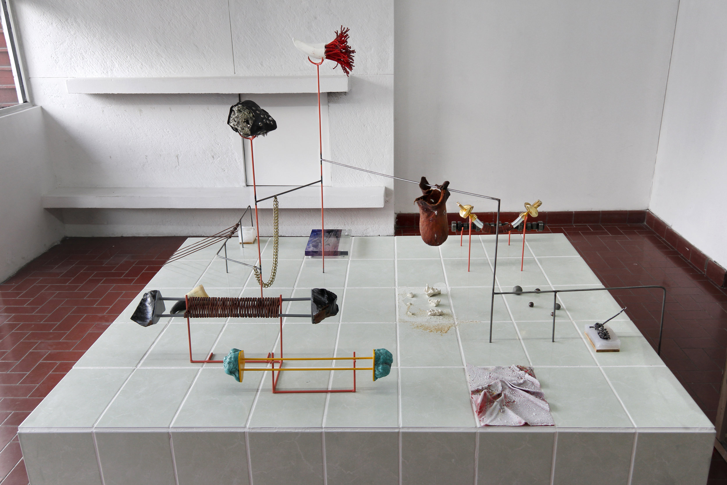 cowboy, installation view, guadalajara 90210
