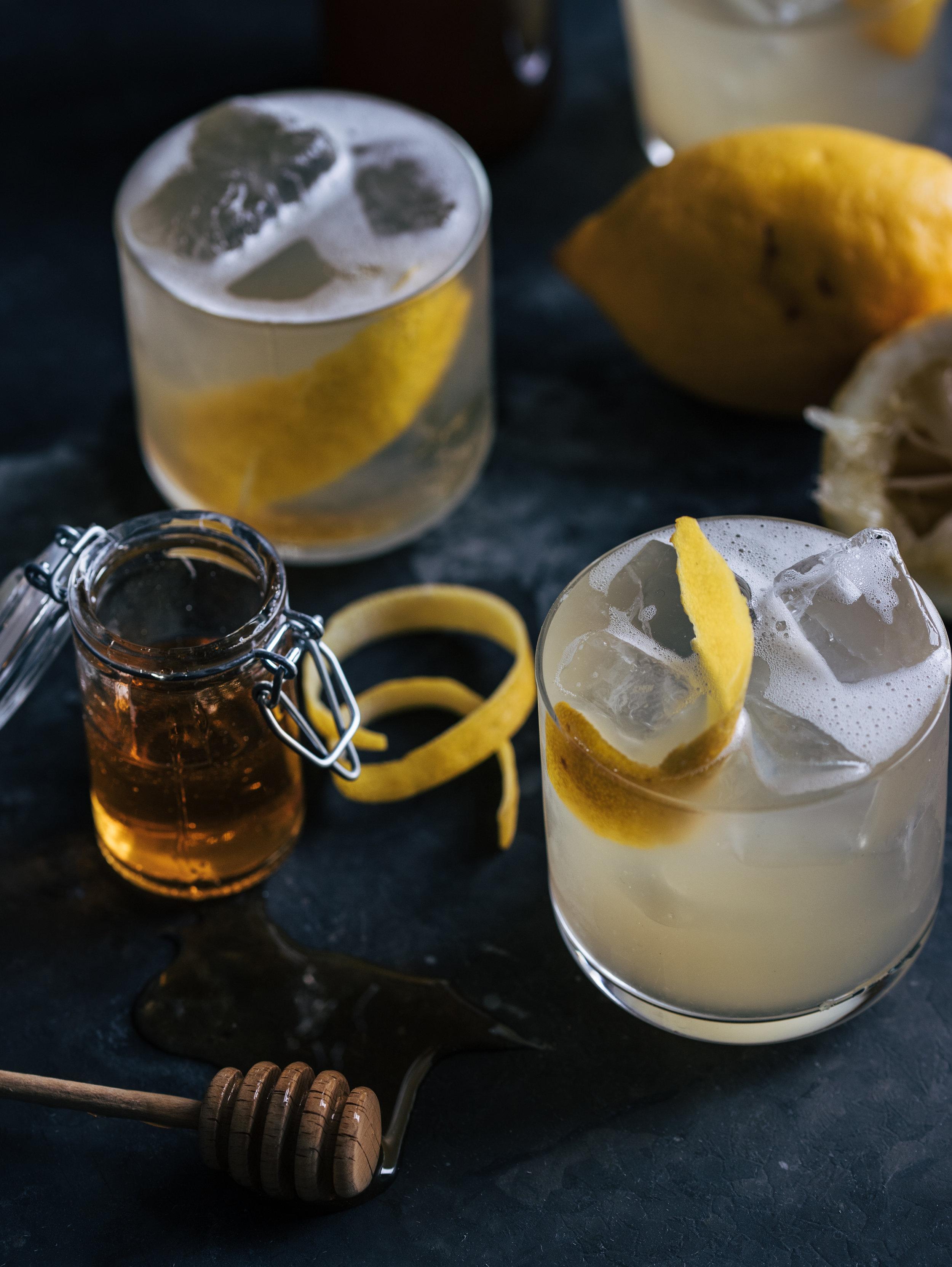 Beers Knees - Honey Beer Lemon