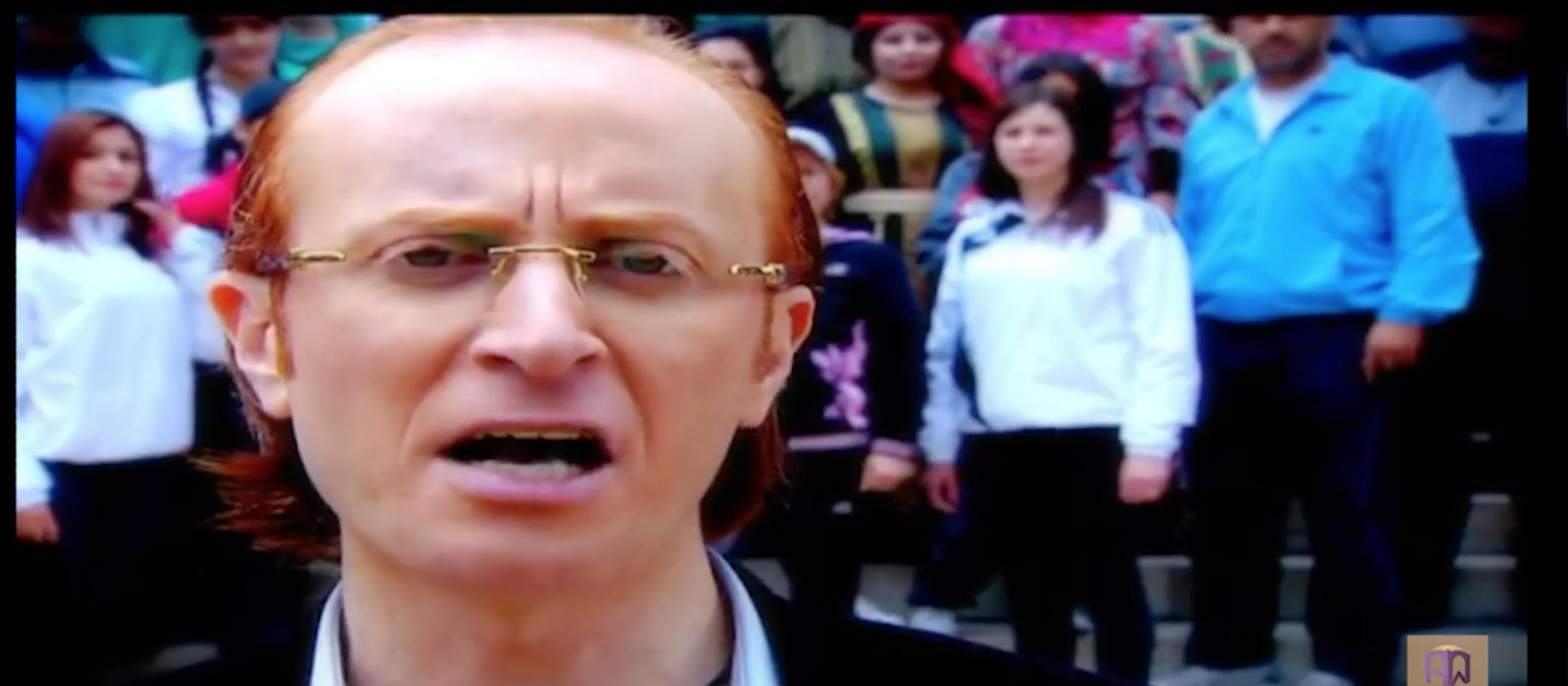 Mustafa Khani stars in original, patriotic (and pro-regime) music videos.
