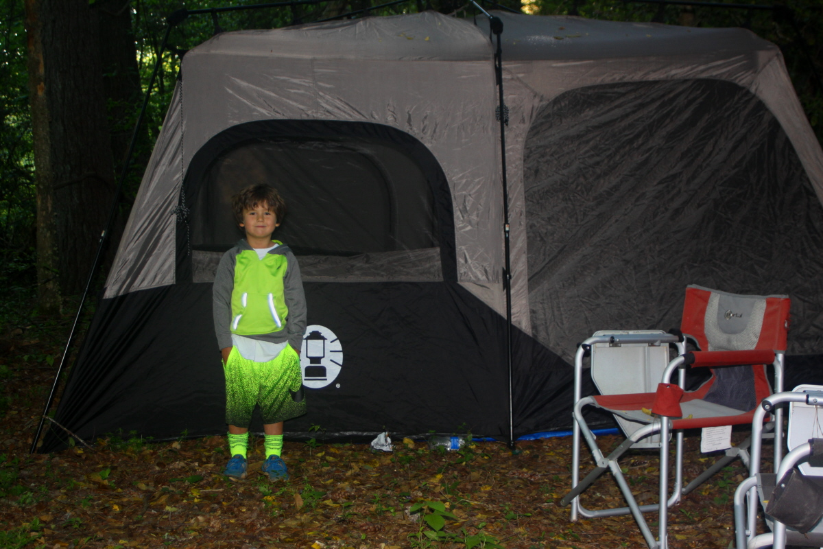 Early morning by his tent email.jpg