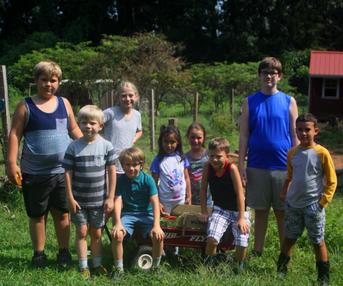 HomeSchool at the garden email.jpg