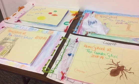 Masterbooks and art portfolios ready to take home.jpg