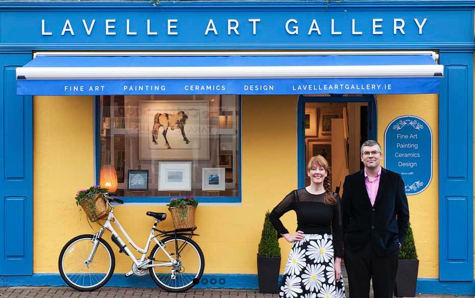 Deborah Watkins & Gavin Lavelle Gallery Owners