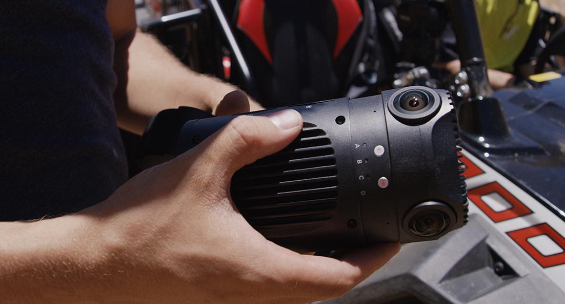 ZCam S1 camera in the field in Utah