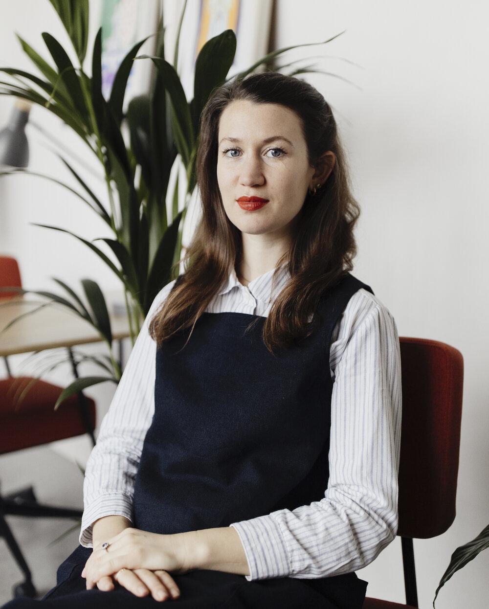 Joanna Payne, by Luke Fullalove