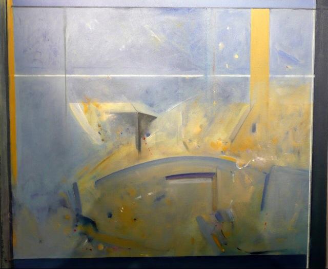 3 Roy Sparkes THROUGH THE WINDOW - THE BRIDGE AT VILLENEUVE SUR YONN.jpeg