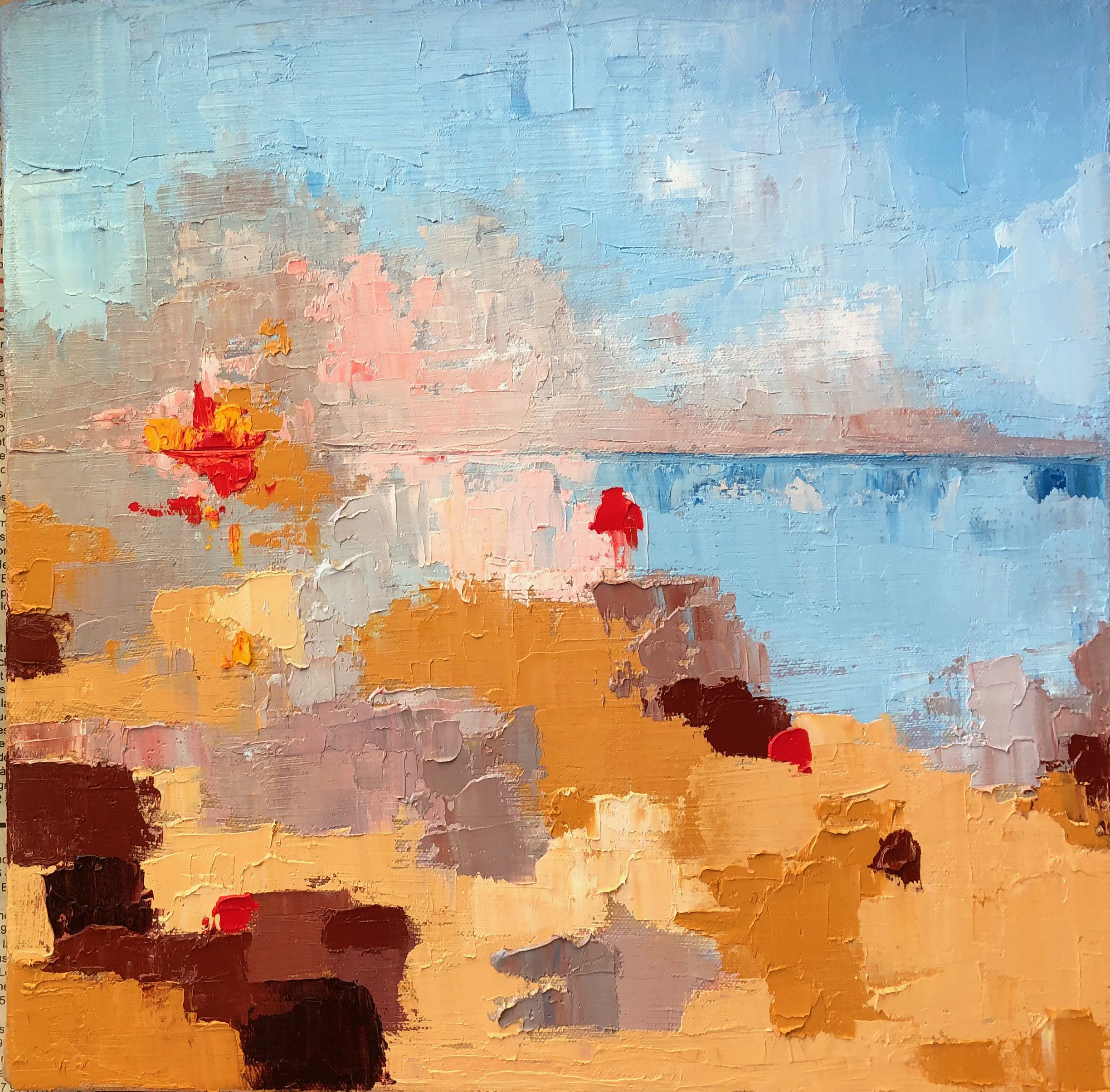 APA 18 044 Low Tide End of Day abstract 12x12.jpg