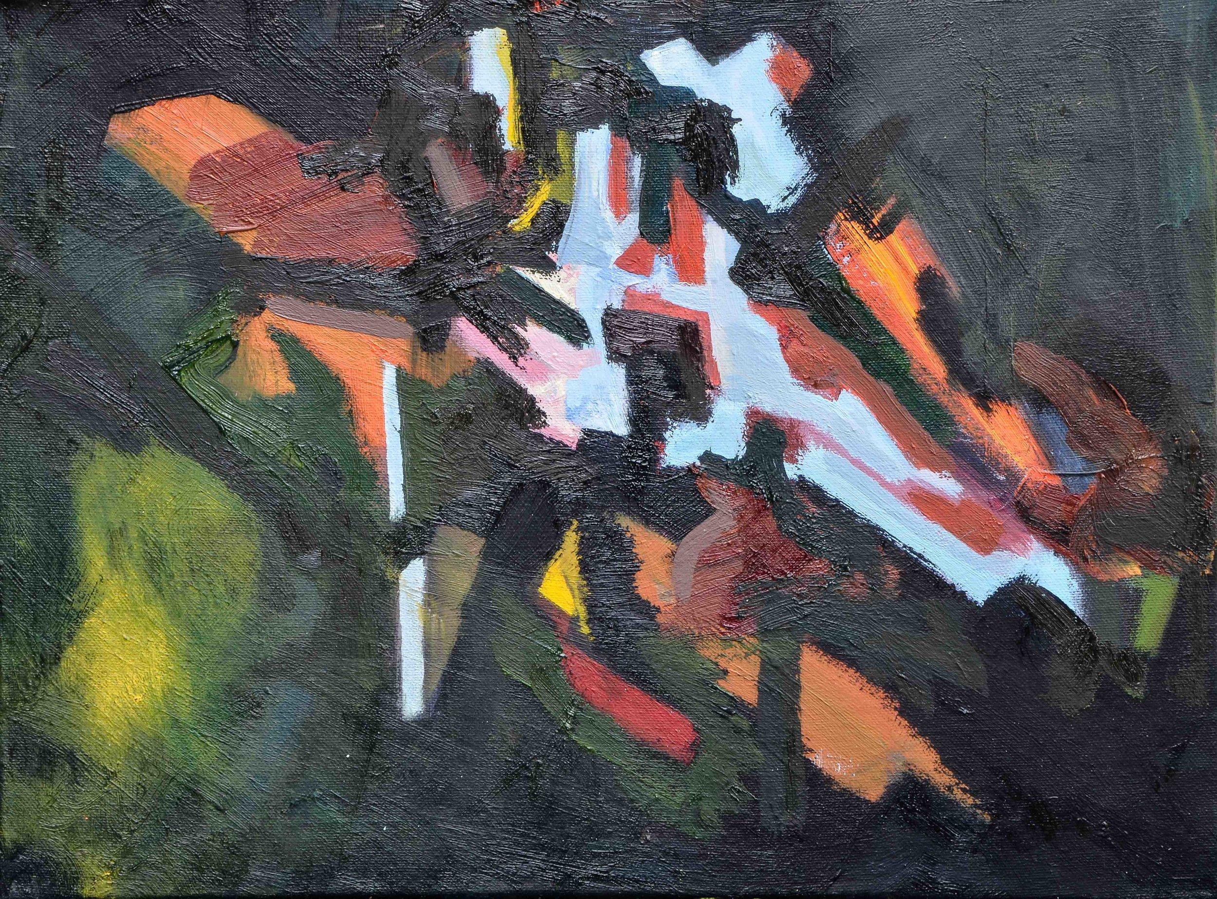 Horizon - Oil on Canvas - size - year