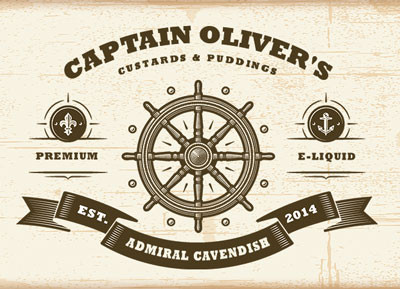 Captain Oliver's Custards and Puddings by Vapemeet
