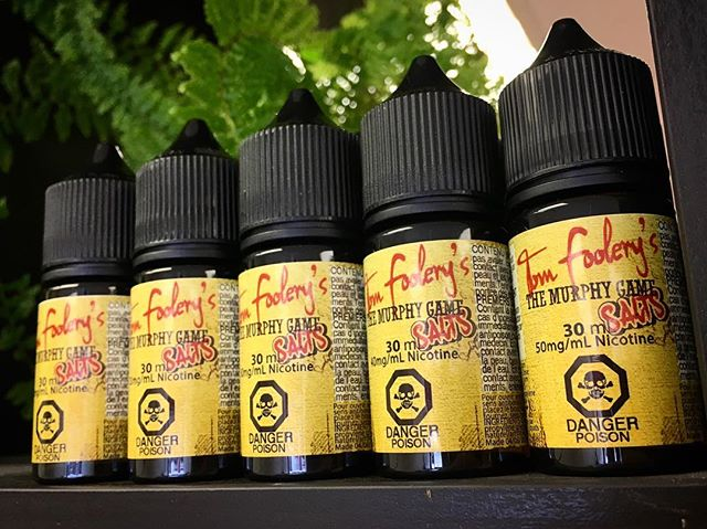 @mojovapesptbo Tom Foolery's Fuzzy Peach is now available in Salts !!! Hard to pass on this sweet treat 👌 #mojovapespeterborough #tomfoolerysfuzzypeach #supportlocal #peterboroughvapers #vapelife💨 #quitsmokingstartvaping