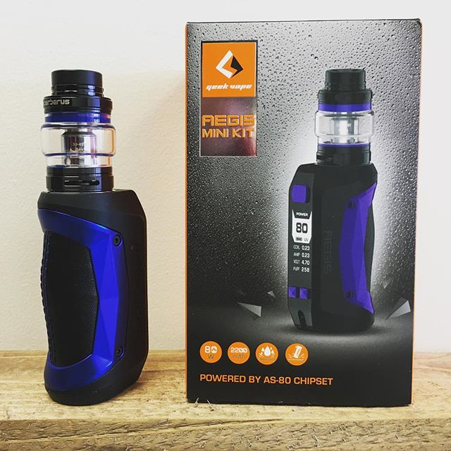 The Aegis mini Kit from @geekvapetech is tough and ready to get you through your summer adventures !  #mojovapespeterborough #mojovapes #peteboroughvapers #geekvaoeaegisminikit #quitsmokingstartvaping #supportlocal
