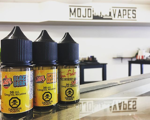 @mojovapesptbo Salts ready to get your summer rocking with amazing flavour !  #mojovapesptbo #mojovapessalts #peterboroughontario #peterboroughkawarthas #kawarthas #kawarthalakes #705 #peterbproughvapers #quitsmokingstartvaping #supportlocalbusinesses