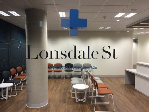 Welcome to Lonsdale St. Medical Practice! Photo caption example.