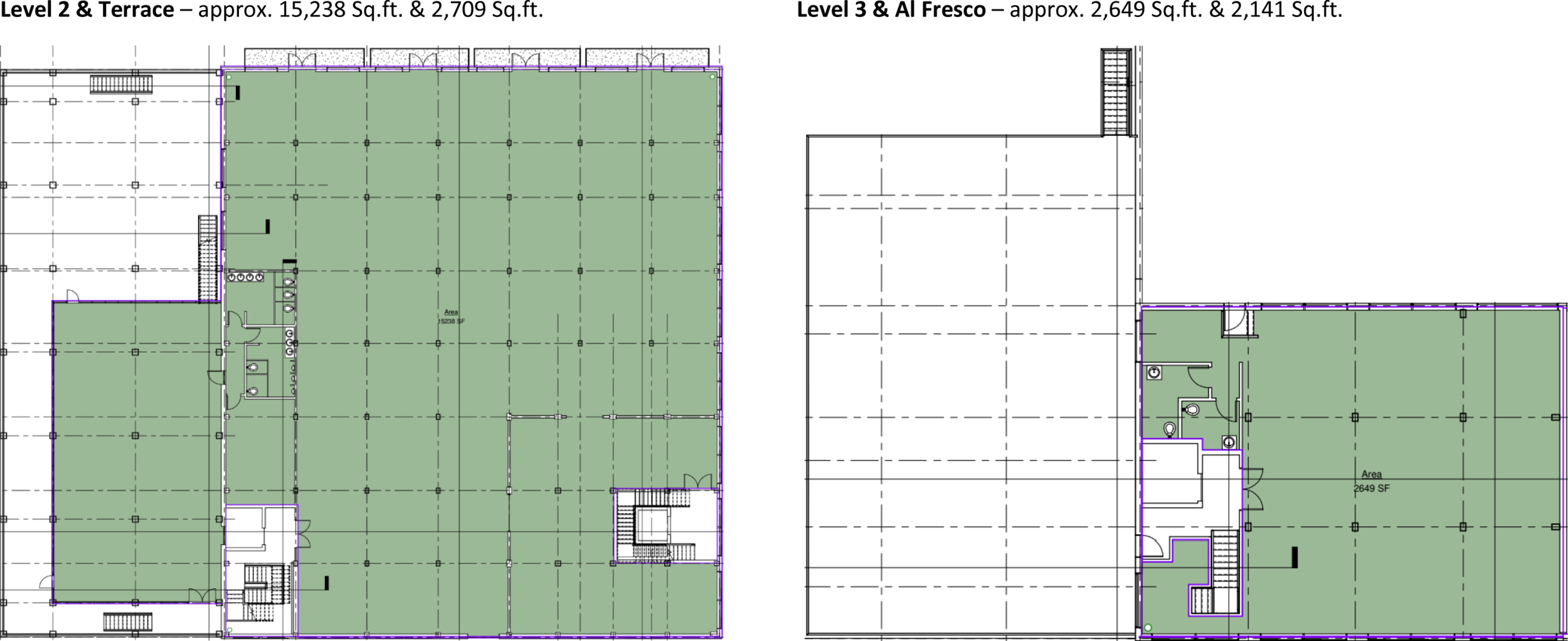 The Granary - floor plans 2 and 3.png
