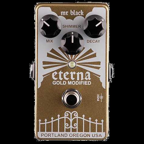 Mr. Black Eterna Gold Modified