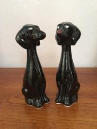 Midcentury ceramic dogs