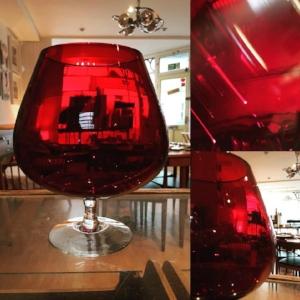 1960s Red Glass Vase.jpg