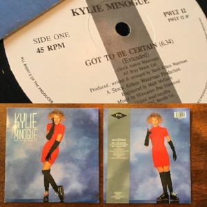 Vintage Vinyl -Tiffany and Kylie Minogue