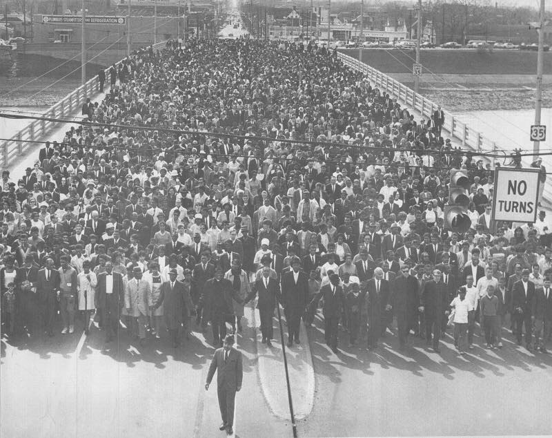 Third Street Bridge April 7 1968 - 7,500 people walk in honor of mlk jr.jpg