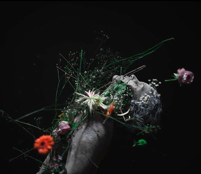 @sarasara__music  #flowers #statue #margate #music #photography #photographystudio #fireeyeland