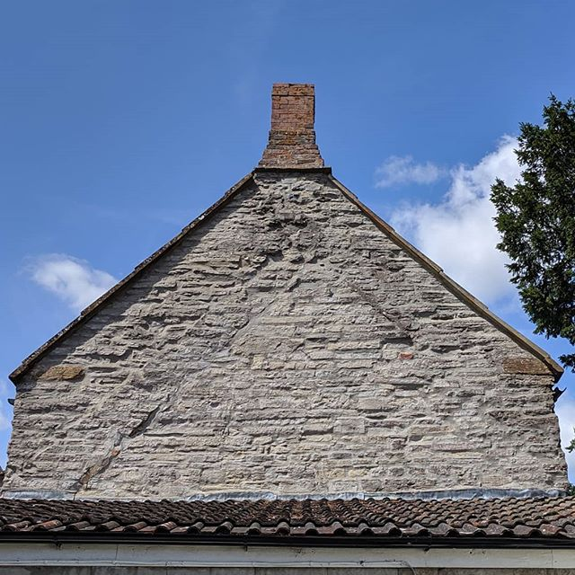 Ancient roof, Somerton.  #england #nofilter #rooftop