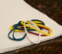Cooking rubber bands