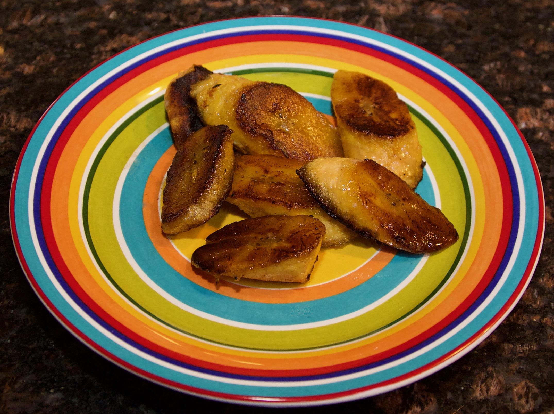 Sautéed plantains
