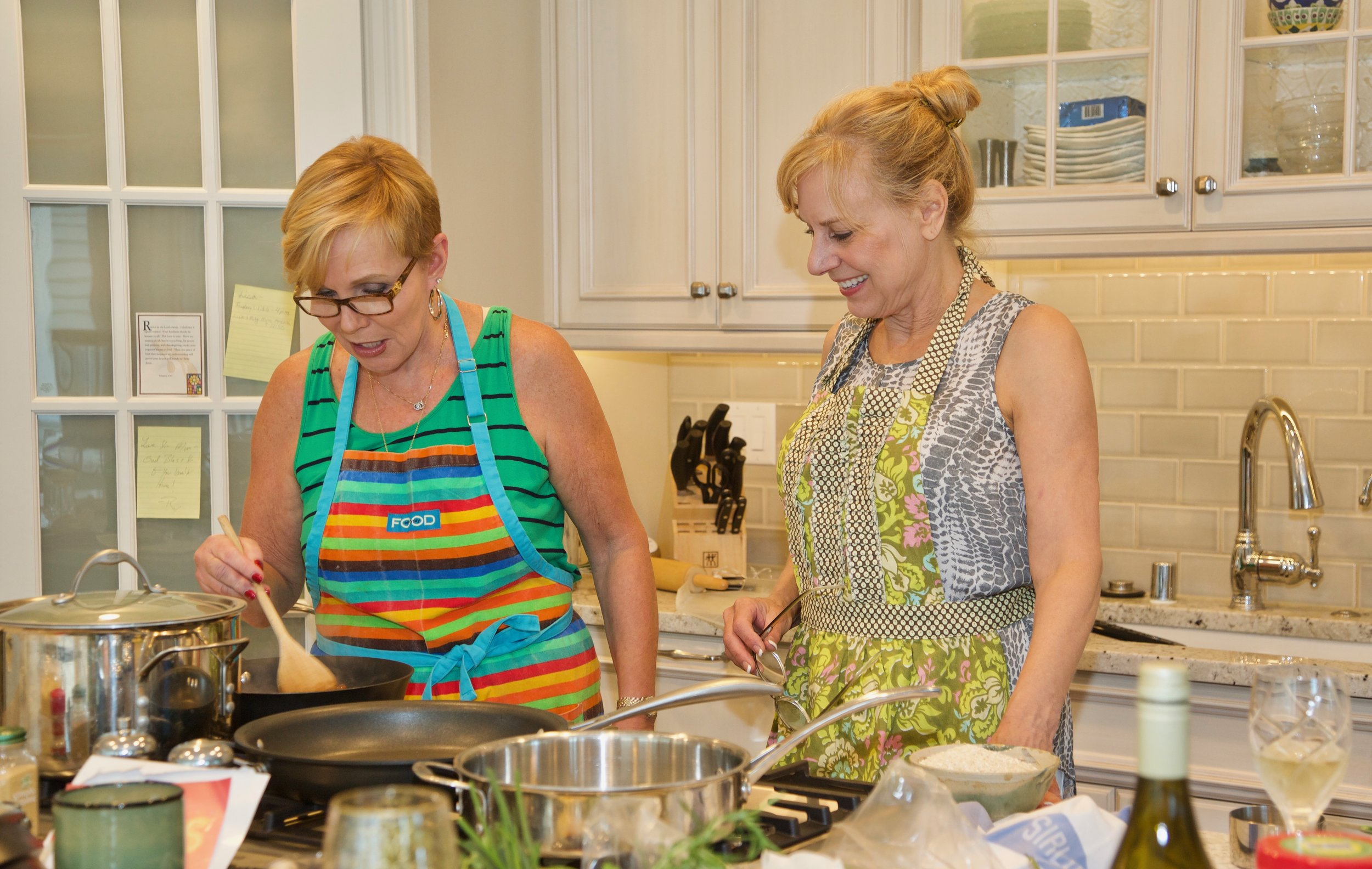 Delafield cooking lesson