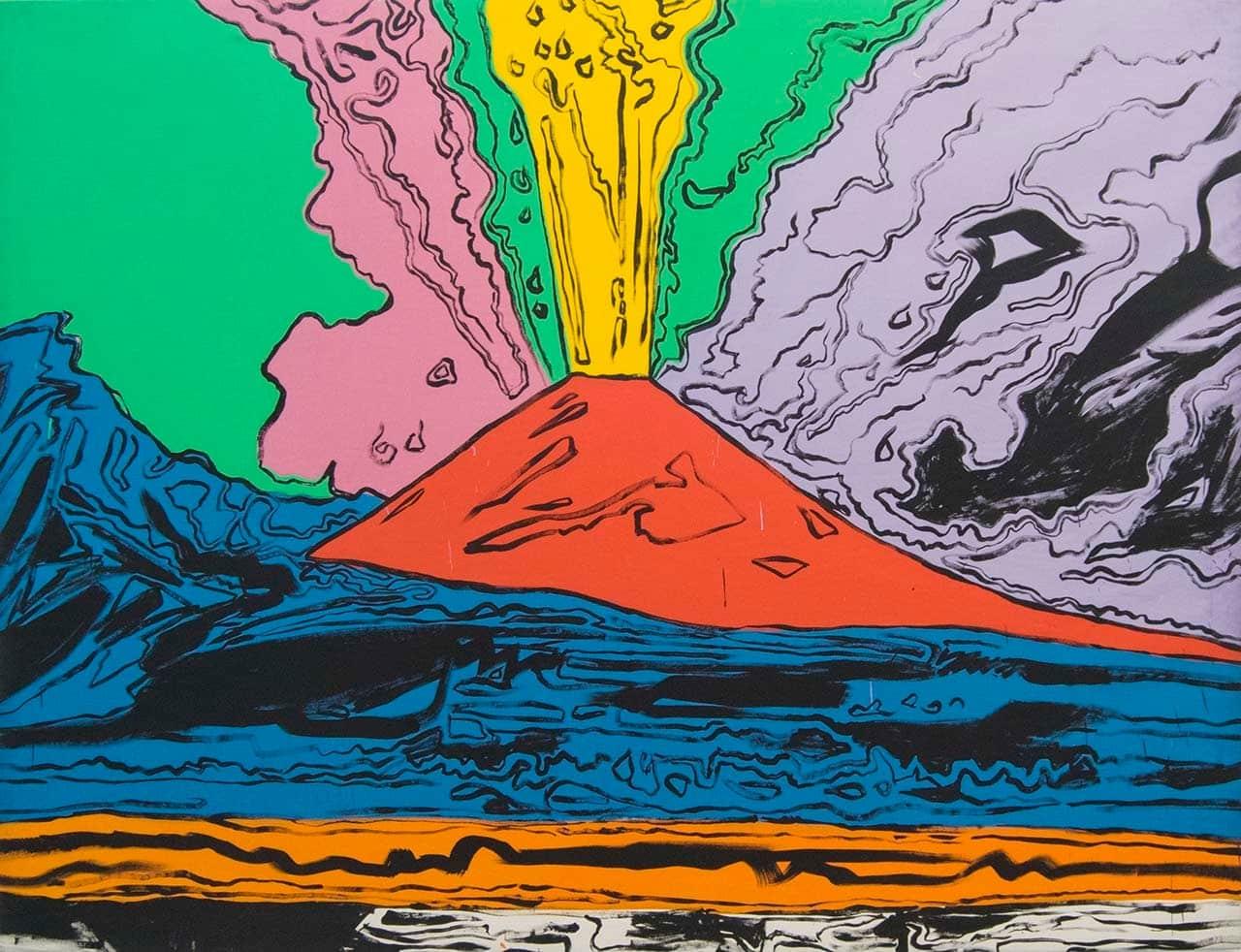 Andy Warhol, Vesuvius (1985)