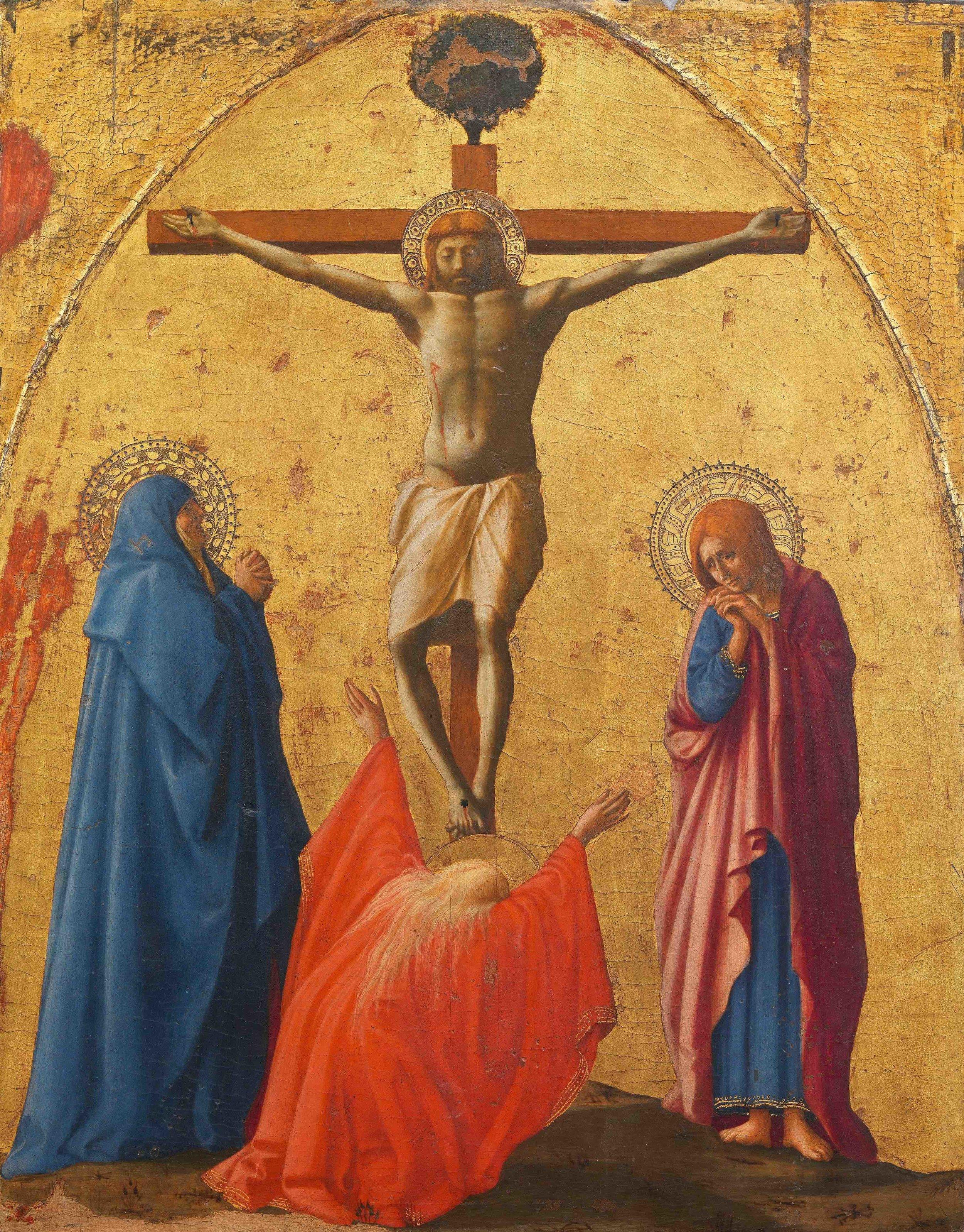 Masaccio, Crucifixion (1426)