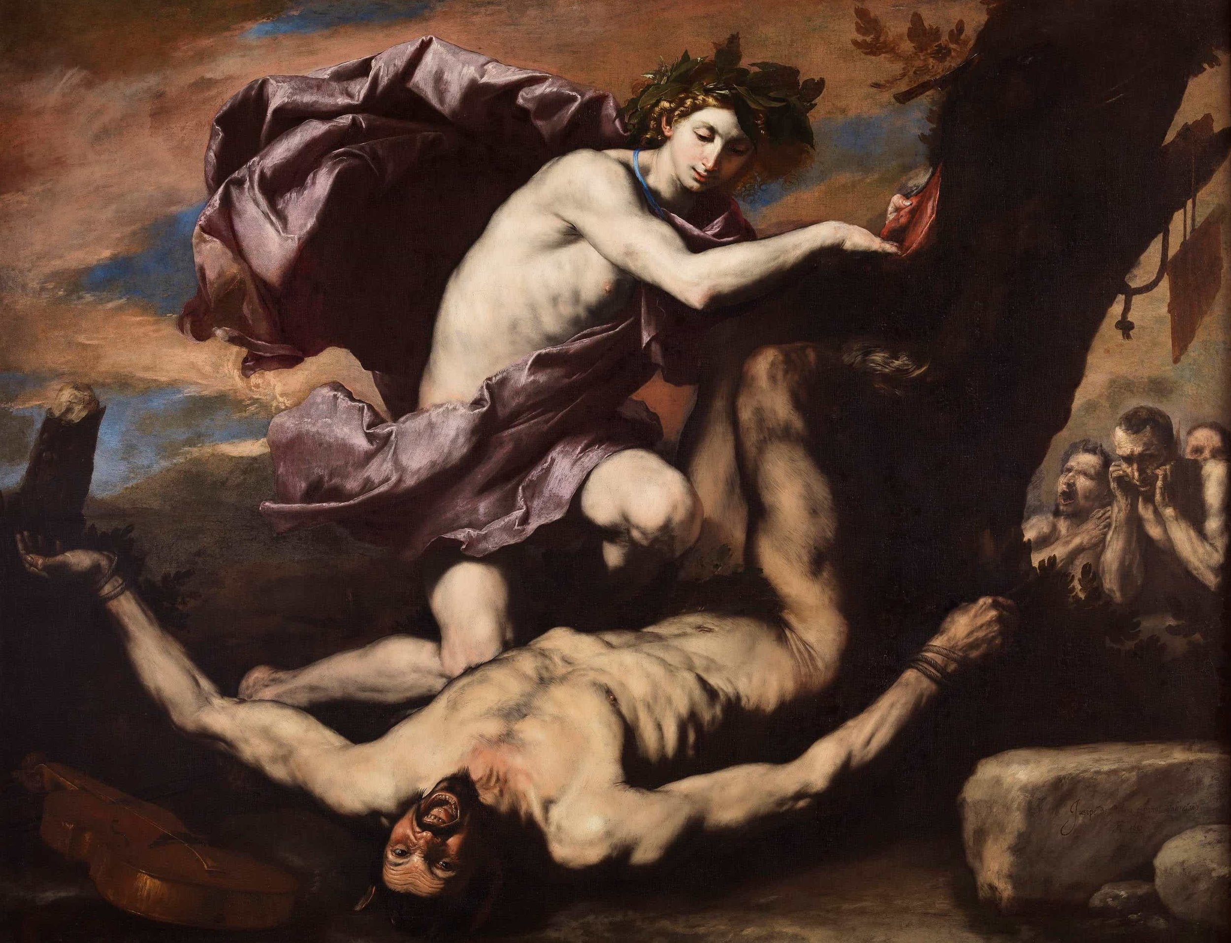 Jusepe de Ribera, Apollo and Marsyus (1637)