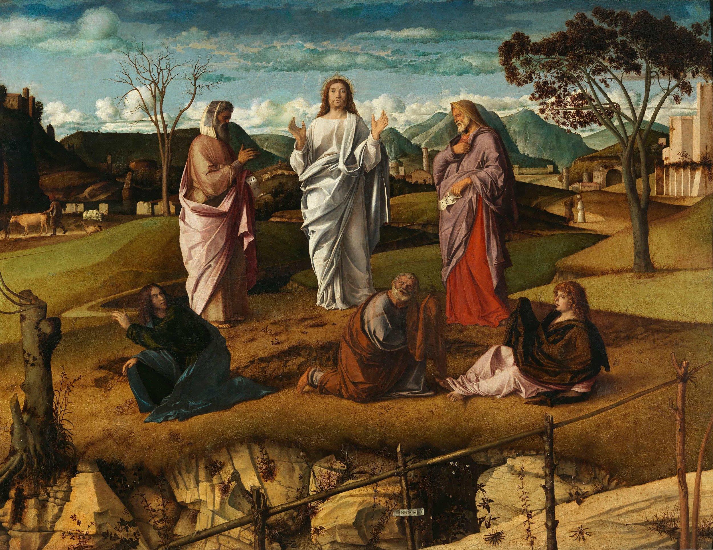 Giovanni Bellini, Transfiguration (1478-79)