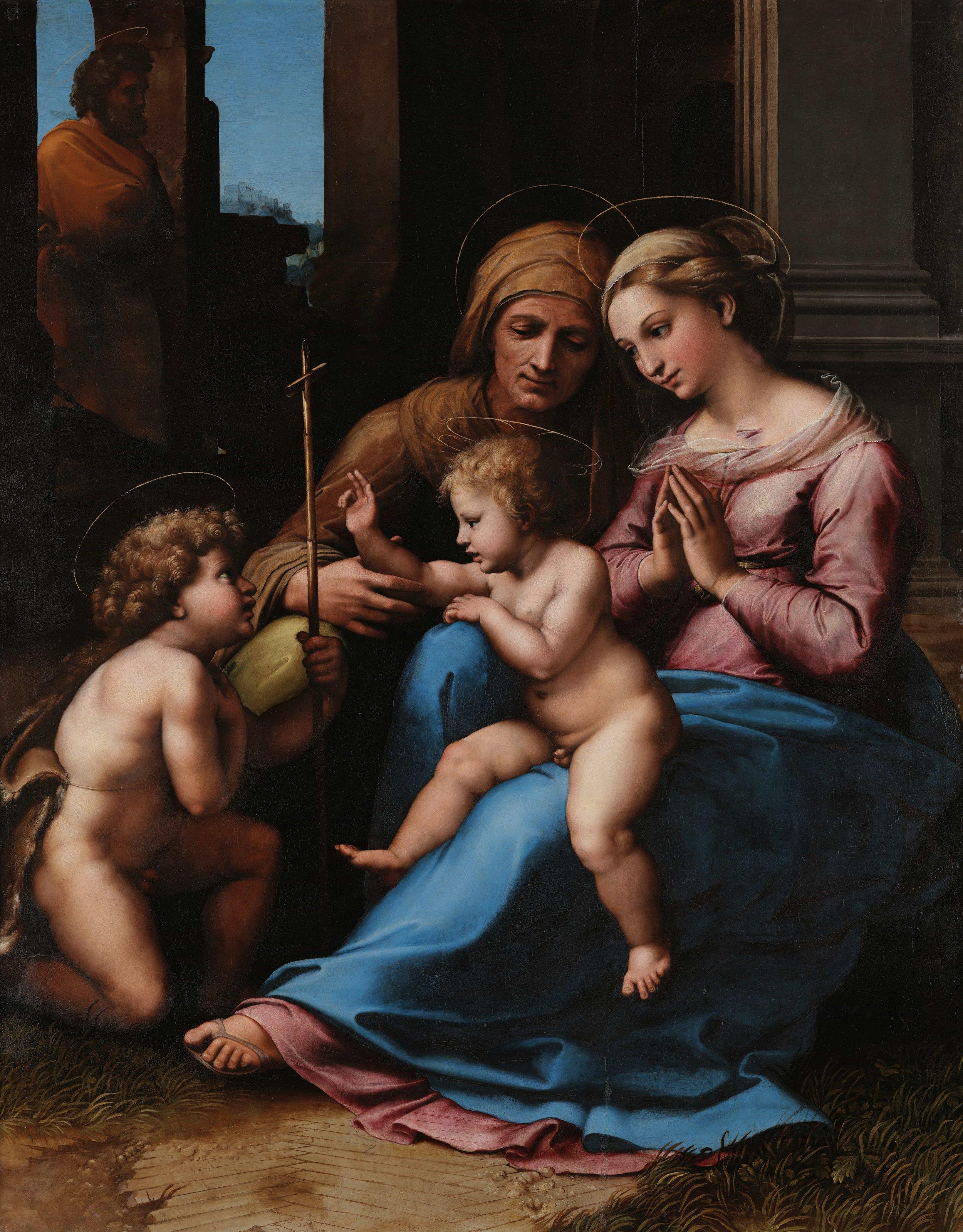 Raphael, Madonna of Divine Love (1516)