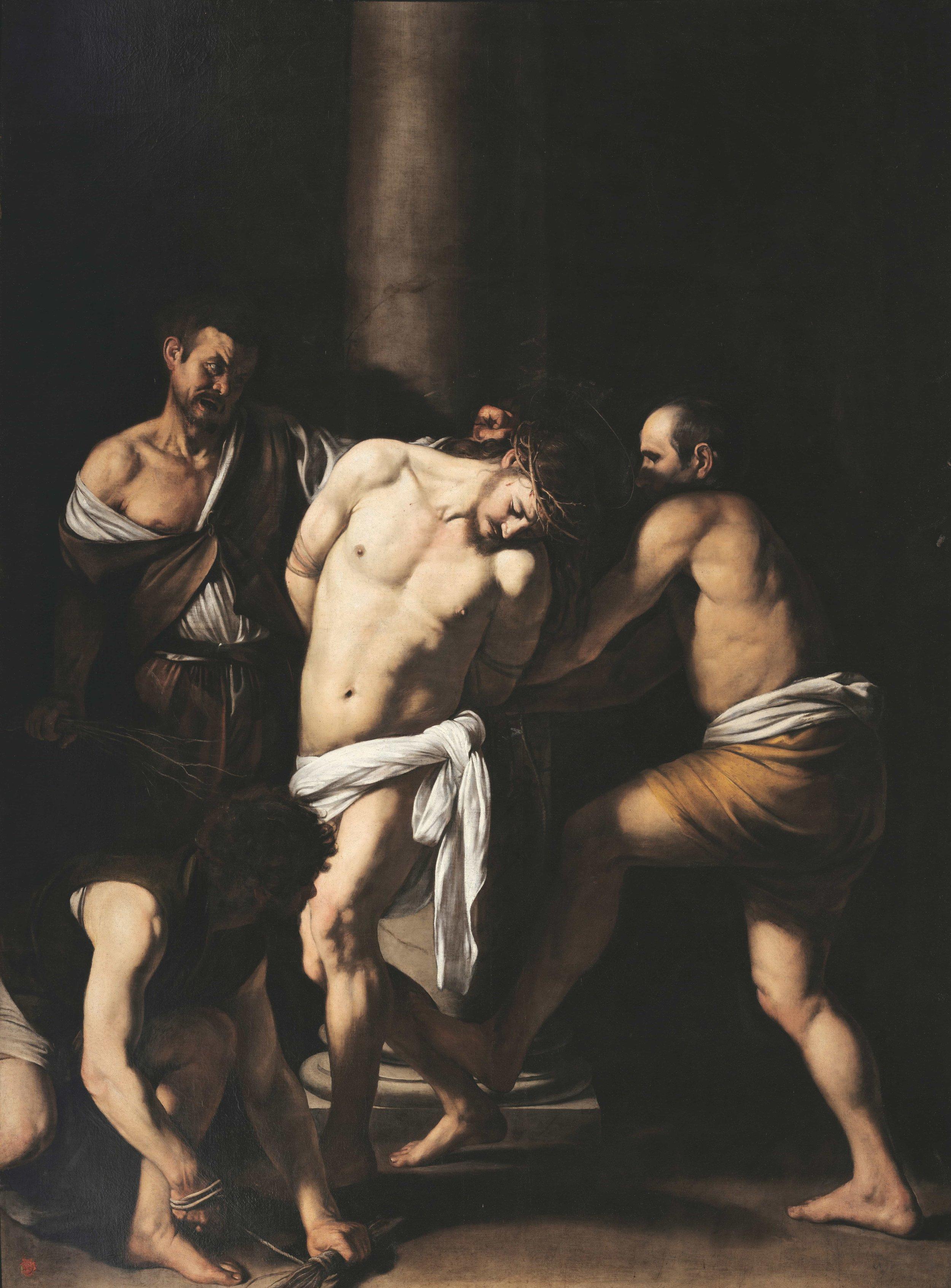 Caravaggio, The Flagellation (1607)