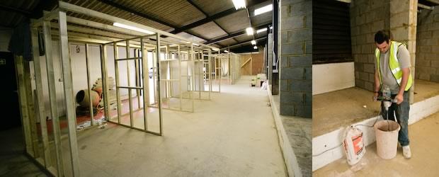 Inside the C&G Plastering Academy