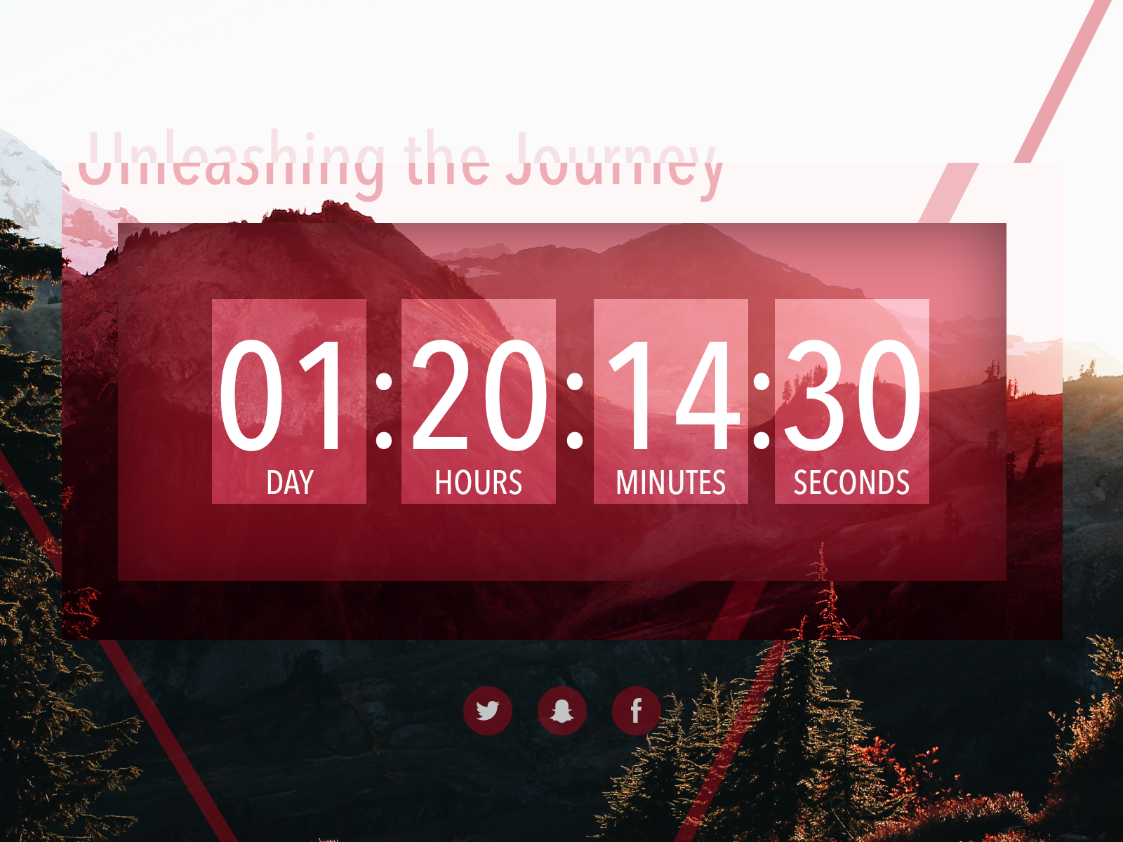 Daily UI #014—Countdown Timer