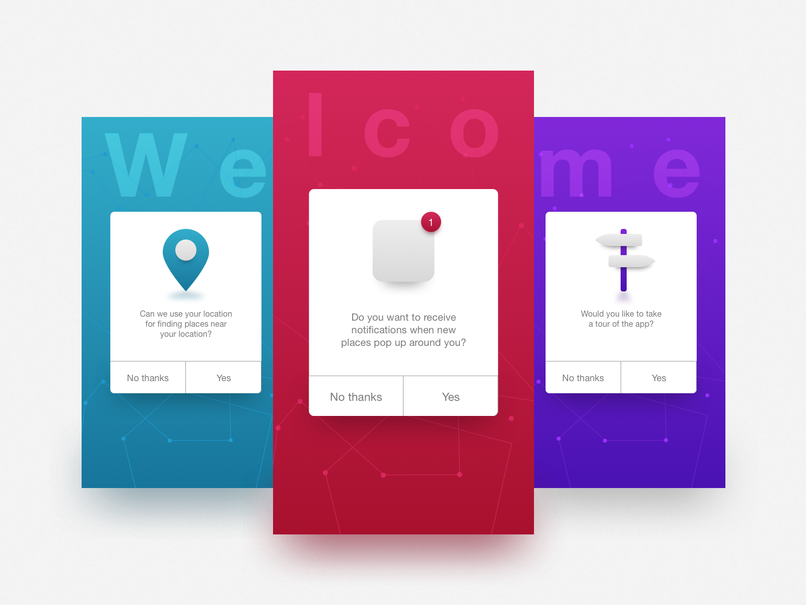 Daily UI #023—Onboarding